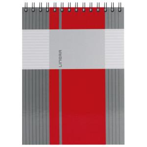 Blok kolegij A4 crte 80L spirala gore mat+lak Linear Marker 4-64